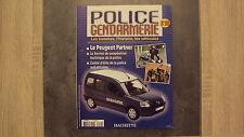 Fascicule Police et Gendarmerie n°20 - La Peugeot Partner