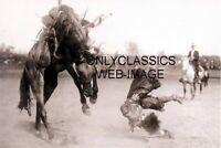 1915 RODEO STAR BONNIE McCARROL BRONCO RIDING COWBOY GIRL PHOTO PENDLETON OREGON