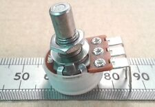 Vertical PCB Mount 6.0mm Round Shaft Linear Potentiometer, Lin B Pot VR60