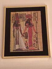 Hathor & Nefertiti 8 x 10 Foil Print (Framed)