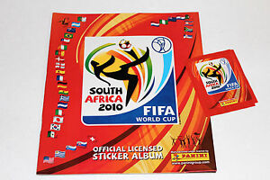Panini World Cup 2010 South Africa – 1 X Empty Album Germany German Edition