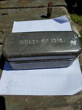New listing Ww1 Doughboy Galvanized Model 1916 Meat Can