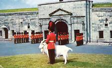 Changing of the Guard La Citadelle Postcard Quebec City Canada