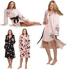 Knee Length Cotton Kimono Everyday Nightwear for Women
