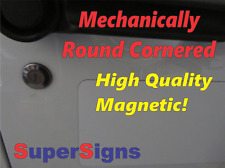 NOT FOR HIRE Magnetic signs to fit Car, Tow Truck, Van SUV US DOT Approved Size