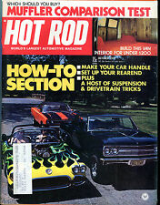 Hot Rod Magazine October 1973 How-To Section Muffler Test EX 021716jhe