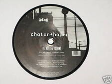 "CHATON + HOPEN the monk is rolling / it is cut / platz 12"" RECORD"