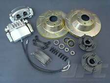 328 mm BIG BRAKE KIT FITS EH - HR PBR TWIN PISTON SS HOLDEN TRACK RACE SHOW DRAG