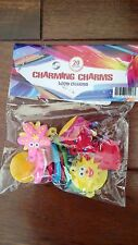 New 20 Assorted Charming Loom Charms for Kids Rubber Rainbow cra-z Loom Bracelet