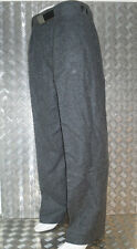Genuine Vintage Grey Danish Army Fitted Wool Trousers. All Sizes - BRAND NEW