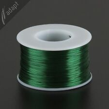 25 AWG Gauge Magnet Wire Green 500' 155C Enameled Copper Coil Winding