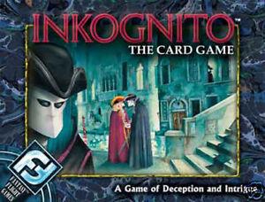 Inkognito The Card Game - Fantasy Flight - BRAND NEW!
