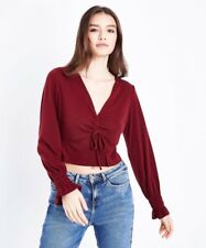 3dffcc772e7 New Look Ruched Cropped Tops & Shirts for Women for sale | eBay