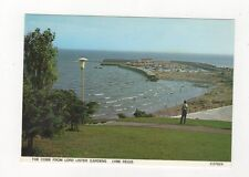 The Cobb From Lord Lister Gardens Lyme Regis Postcard 458a