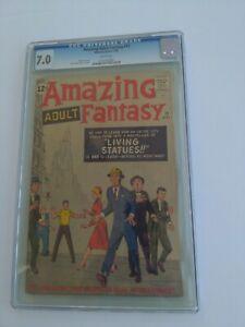 Amazing adult fantasy 12 cgc 7.0 1962