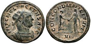 TACITUS (275-276 AD) Rare Antoninianus. Ticinum #TF 8502