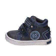 b7ba7cf62b5f8 scarpe bambino ENRICO COVERI 20 EU sneakers blu grigio pelle AD961-B