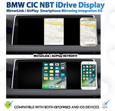 BMW CIC NBT iDrive AirPlay MirrorLink Smartphone Mirroring retrofit Kit