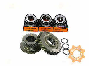 M32 / M20 GENUINE 6TH GEARS 27/44 TEETH TIMKEN END CASE BEARINGS AND CIRCLIPS