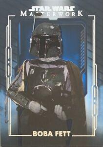2020 Star Wars Masterwork Boba Fett Blue Parallel