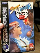 Street Fighter Alpha 2 Sega Saturn PAL in OVP