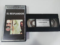 STEPHEN KING THE THE SHINING STANLEY KUBRICK TERROR VHS COLLECTOR SPANISH
