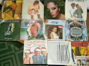 """7"""" Singles - 11 Verschiedene Schallplatten siehe Bilder ✅GUTER ZUSTAND✅"""