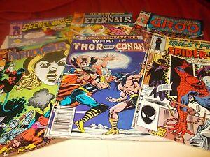 Asst., Marvel Comic's ( set of 6)