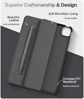 iPad Pro 12.9 Case 4th Gen 2020 Full Body Protection Flip Cover Folio Shockproof