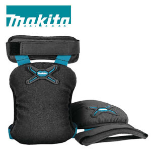 Makita E-05642 Deluxe Durable Knee Pads Pair 3D Mesh Lining - Over Trousers