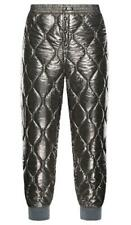 NEW MONCLER MEN'S QUILTED METALLIC PADDED SKI SPORT WINTER PANTS 48/SMALL