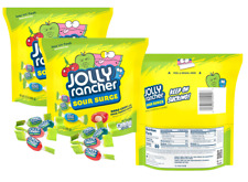 Jolly Rancher Sour Surge Assorted Flavors Hard Candy Resealable 2 Bags 13 ounce