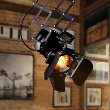 Retro Spotlight Industrial Ceiling Track Lighting Stage Pendant Retractable Lamp