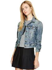 Talula Aritzia Denim Jean Long Sleeve Jacket Medium Wash Size S