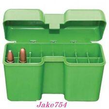MTM Case-Gard RF22 Series 22 Round Large Magnum Ammunition Box Green RF22-LM-10