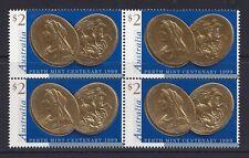 Australia 1999 Block of 4 Centenary of Perth Mint - AU1877BK