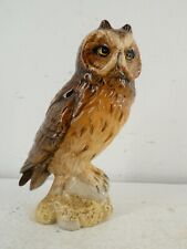More details for beswick beneagles short eared owl scotch whisky flask with original label j22