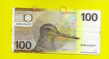 NETHERLANDS - 100 Gulden 1977 snipe - F