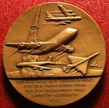 WILLIAM MCPHERSON ALLEN President Boeing Aviation Hall of Fame 1971 medal BECK
