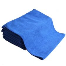 Car SUV Blue Portable Soft Microfiber Absorbent Towel Wash Cleaning Cloth Tools
