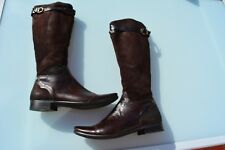 Superbes Bottes CAVALIERES BUTTERO Marron Made in  Italy T38 Livraison offerte !