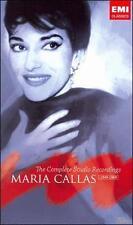 MARIA CALLAS, THE COMPLETE STUDIO RECORDINGS 1949-1969 [BOX SET] 70 CD set