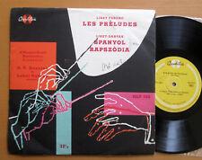 "Liszt Les Preludes Spanyol Rapszodia Qualiton 10"" Vinyl HLP 108"