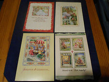 LOT OF 4 Susan Wheeler Holly Pond Hill Bunny Rabbit Greeting Card #2