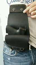 Phantom Leather Conceal Concealment Gun Holster for Business or Walking the Dog