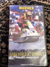IJSBA WORLD JET SKI FINALS 1989 On VHS Tape