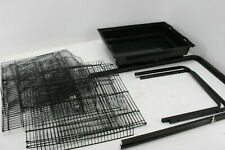 See Notes Vivohome Vh433 60 Inch Wrought Iron Bird Cage w Play Top Black
