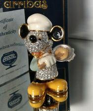 Swarovski Disney Arribas Figur Mickey Maus Koch Mickey Mouse Chef Cook OVP MIB