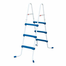 Summer Waves 36 Inch SureStep 3 Step Outdoor Above Ground Pool Ladder (Open Box)