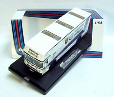 "1:64 HPI64 MERCEDES-BENZ O317 ""Martini Porsche"" Car Carrier Resin L.E. 599 pcs."